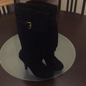 Michael Kors Slouchy Suede Boots